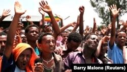 Manifestations dans la région d'oromia en Ethiopie.