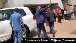 Aristides Gomes, deixa sede da ONU em Bissau