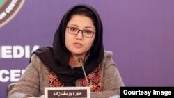 منیره یوسفزاده، سخنگوی ادارۀ مستقل ارگانهای محلی