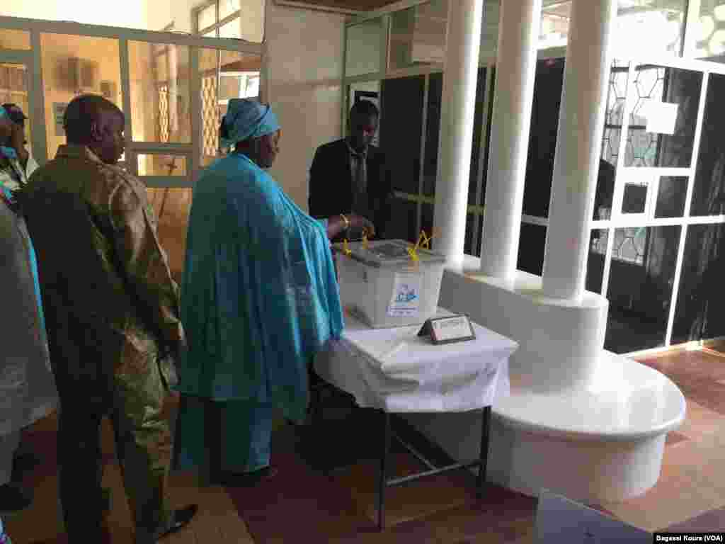 Second tour de la présidentielle à Niamey, Niger, le 20 mars 2016.