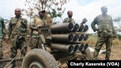 Abasirikare ba RDC bariko birukana aba Mai Mai mw'ishamba rya Virunga
