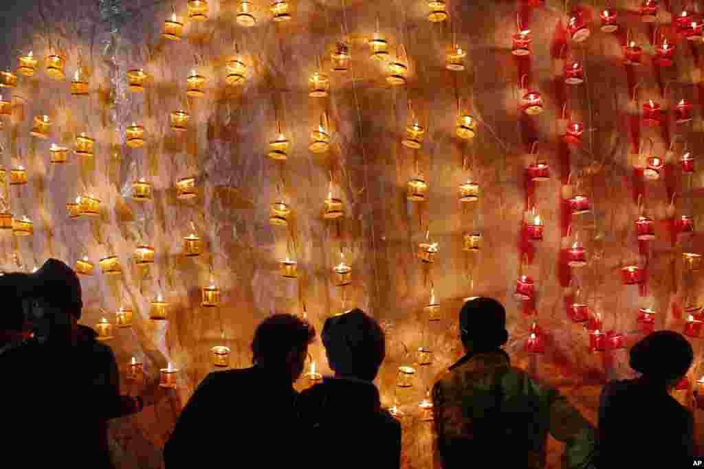 Myanmar - Uçan Balonlar festivalı