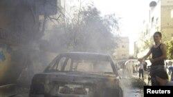 叙利亚德拉省11月3日硝烟弥漫,遭到政府军轰炸
