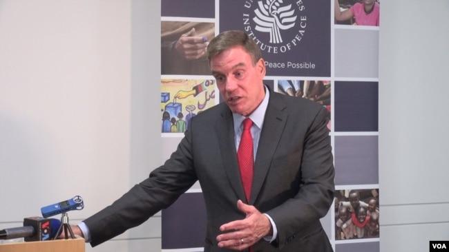 美国国会参议院情报委员会副主席沃纳在美国和平研究所就美中竞争议题发表演讲后答记者问(2019年9月23日)