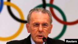国际奥委会主席9月4日在记者会上