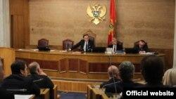 Sednica Skupštine CG (rtcg.me)