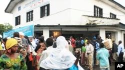 Une vue de la ville de Goma (novembre 2011)