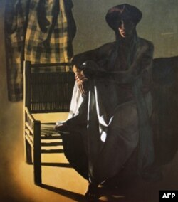 Vợ tôi,1991 100 x 84 cm