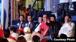 Suasana di Rumah Aspirasi, salah satu markas besar pendukung capres-cawapres Joko Widodo-Ma'ruf Amin, Kamis malam (17/1). (Foto milik: TKN Jokowi-Amin)