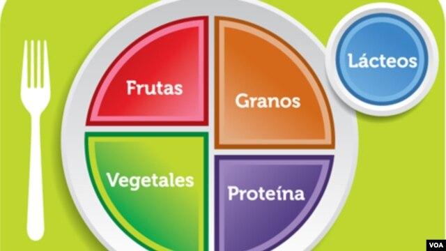"""""""Todos debemos pensar más en los alimentos que comemos"""", dijo Michelle Obama durante el lanzamiento del programa en inglés."""