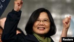 台湾总统当选人蔡英文