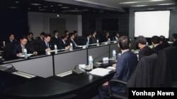 한국 국가정보원에서 긴급 국가사이버안전 대책회의가 열리고 있다. (자료 사진)