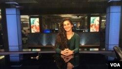 VOA Public Relations Intern, Yassmin Mostafavi