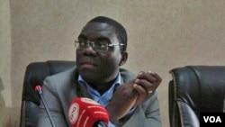 Teixeira Candido, secretário-geral do Sindicato de Jornalistas Angolanos