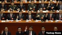 중국 공산당 제18차 당대회. (자료사진)
