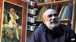 Egyptian mosaic artist Saad Romany Mikhaiel
