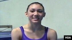 Kyla Ross, najmlađa članica američkog gimnastičkog tima na OI London 2012