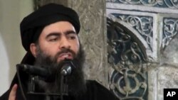 伊斯兰国领导人巴格达迪(资料照片)