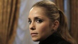 Yevhenia Carr, daughter of former Ukrainian former prime minister Yulia Tymoshenko, in Kyiv, October 13, 2011.
