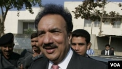 Menteri Dalam Negeri Pakistan, Rehman Malik