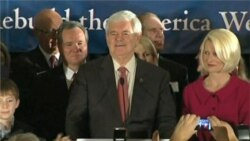 Gingrich Victory in South Carolina Leaves Republican Race Open