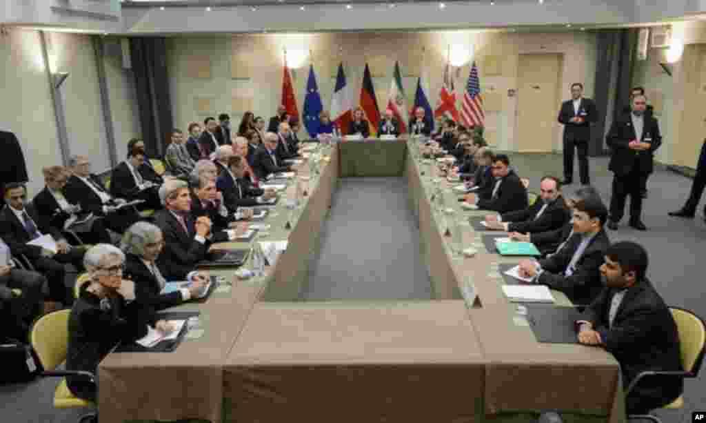 ایران اور اس کے ساتھ مذاکرات کرنے والے ممالک جس میں امریکہ، برطانیہ، چین، فرانس، روس اور جرمنی شامل ہیں،