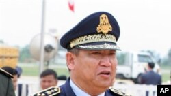 The late Hok Lundy led the national police since 1994 until 2008, he died in a plane crash on November 9, 2008.