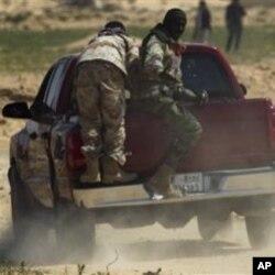 لیبیا پر اتحادیوں کے فضائی حملے جاری