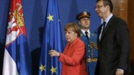 Merkel në Beograd: Be-ja mundëson paqen në Ballkanin Perëndimorë