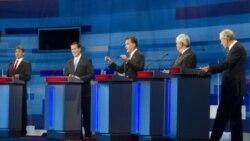 مناظره نامزدهای حزب جمهوری خواه انتخابات ریاست جمهوری آمریکا