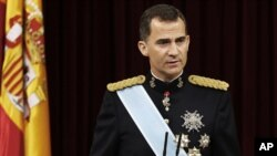 Raja Spanyol Felipe VI di Madrid, Spanyol (Foto: dok).