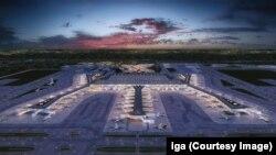 میدان هوایی جدید شهر استانبول ترکیه