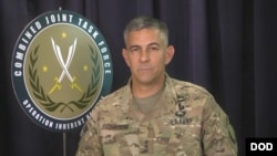 Letjen Stephen J. Townsend, komandan Operation Inherent Resolve untuk Koalisi AS.