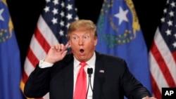 Donald Trump à Las Vegas, janvier 2016