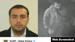 Ảnh nghi can Ahmad Rahami trong lệnh truy nã của FBI.