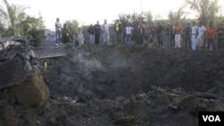 Los israelíes sostienen que los ataques son en respuesta al lanzamiento de morteros contra comunidades en Israel.