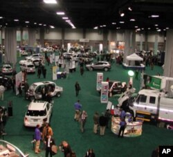 The auto show featured 700 makes and models from 42 domestic and foreign manufacturers.