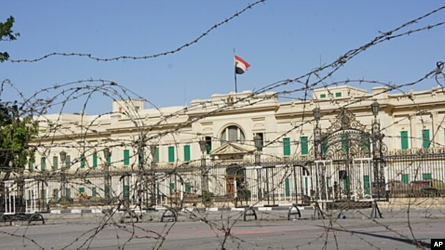 Abdeen Palace, one of Egypt's presidential offices, awaits its next tenant, April 17, 2012.