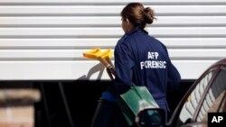 호주의 테러 전문 조사요원이 지난 해 9월 시드니에서 대규모 대테러 작전을 벌이는 모습. (자료사진)