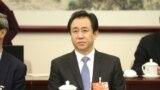 中国恒大集团董事长许家印2018年3月4日在北京出席中国人民政治协商会议的小组讨论会。