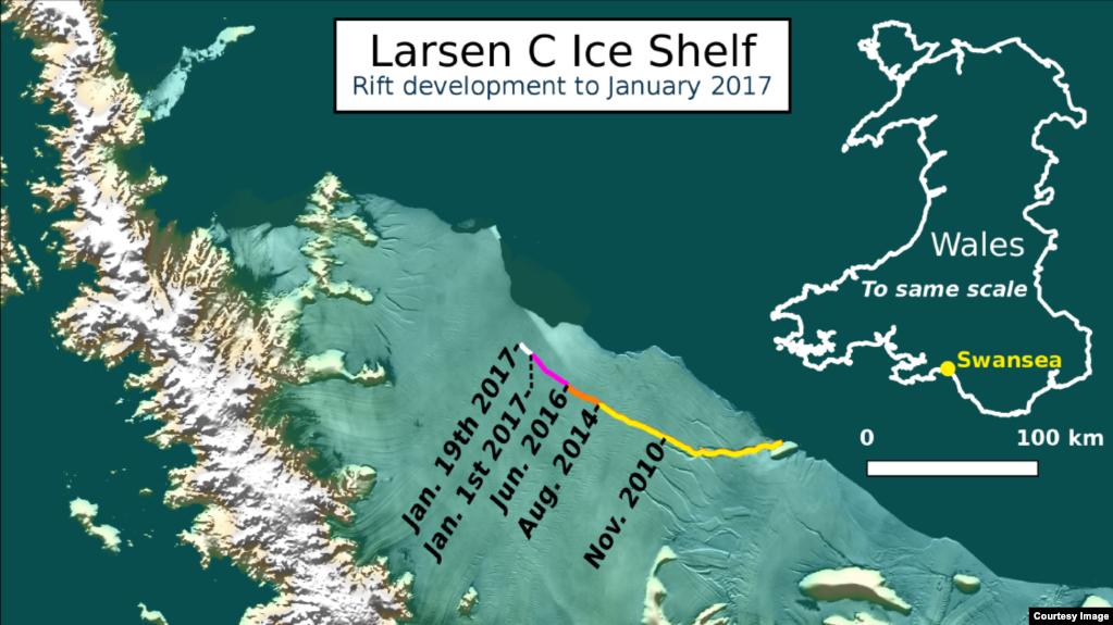 Αποτέλεσμα εικόνας για Larsen C