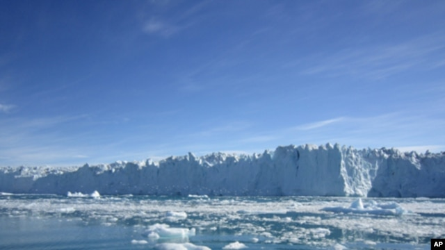 Polar ice sheets in Greenland (pictured above) and Antarctica are losing mass at an accelerated rate and will add significantly to sea level rise.