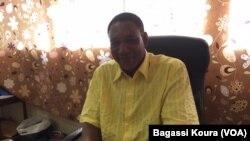 Le professeur Yahaya Issoufou au micro de Bagassi Koura