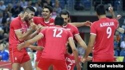 عکس آرشیوی از تیم ملی والیبال ایران