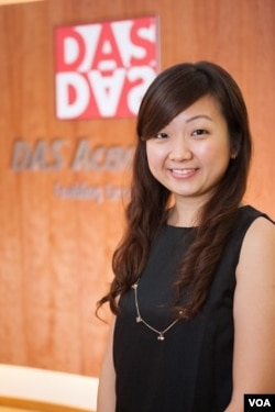 Priscillia Shen of DAS Academy--Credit: Dyslexia Assoication of Singapore.