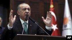 Presiden Turki Recep Tayyip Erdogan memulai lawatan ke Afrika (foto: dok).