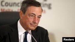 Kepala Bank Sentral Eropa (ECB) Mario Draghi.