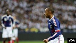 Umukinnyi Thierry Henry w'Umufransa
