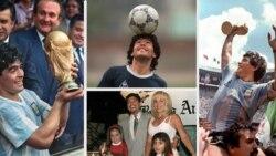 Fans in Argentina Mourn Death of Diego Maradona