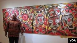 Angola Artes Pintura Alvaro Macieira